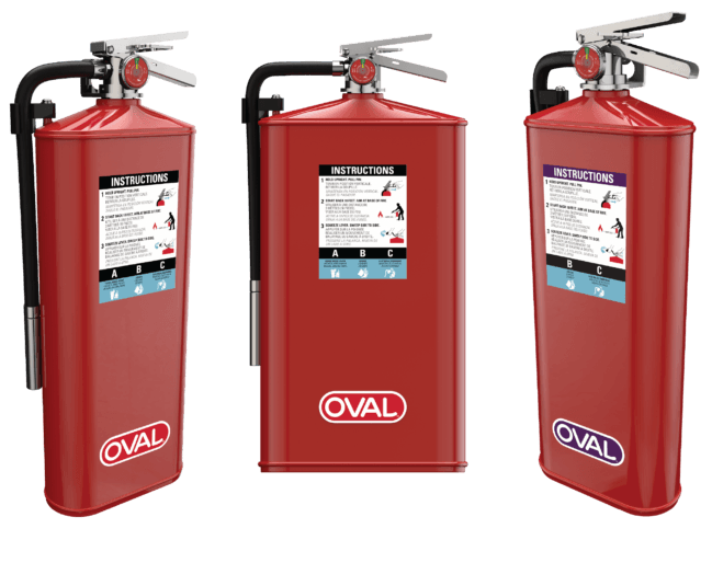 Oval Fire Extinguishers